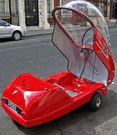 Peel electric mini-car