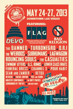 Devo, The Weirdos, Turbonegro, U.S. Bombs, The Casualties and More Added to Punk Rock Bowling