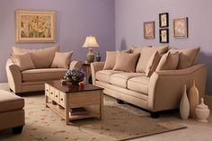 Superbe Briarwood Microfiber Sofa | Sofas | Raymour And Flanigan Furniture U0026  Mattresses