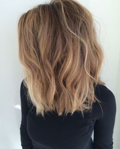 Blond color melt