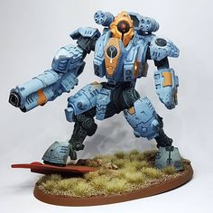"""112 mentions J'aime, 0 commentaires - Geoffroy Martin (@martingeoffroy) sur Instagram: """"Sacea ghostkeel finished. Still some details here and there that I could do, but, hey, I need to…"""" Tau Empire, Fictional Characters, Instagram, Art, Art Background, Kunst, Performing Arts, Fantasy Characters, Art Education Resources"""