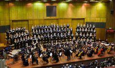 Symphony Choir of Johannesburg at  the 2014 Johannesburg International Mozart Festival