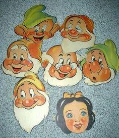 Filmic Light - Snow White Archive: Whitman Snow White Masks