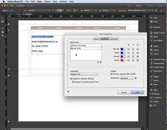 Adobe Muse - creating hyperlinks