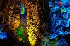 * Reed Flute Cave *   China.