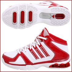 Red Basketball Shoes for Women by Adidas