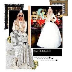 A fashion look from December 2011 featuring Chanel, wedge heel sandals and black home decor. Browse and shop related looks. Fashion Catalogue, Black House, Lady Gaga, Wedge Heels, Fashion Looks, Chart, Wedding Dresses, Shopping, Bride Dresses