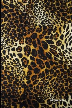 Journal Daily: Leopard Print , Lined Blank Journal Book, 6 x 9, 200 Pages by Journal Daily