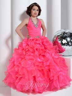 Flower Girl Dresses - Girls Pageant Dresses by Tiffany 13318