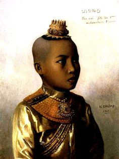 The Orientalist Gallery: Pho Xai  Thai Prince by Jean Leone Jerome