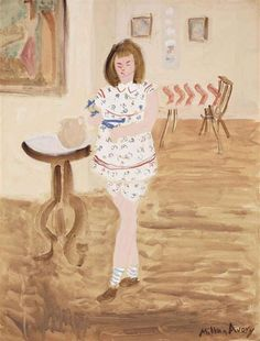 Milton Avery, Artist's Child