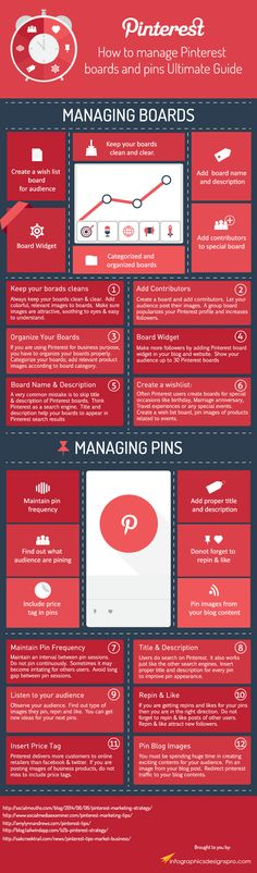 How to Manage #Pinterest Boards and Pins: The Ultimate Guide