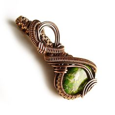 RESERVED copper wire wrapped jewelry by StudioAngel on Etsy