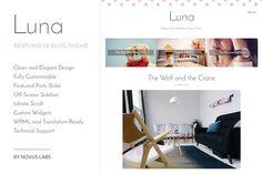 Luna - WordPress Blog Theme by Novus Themes