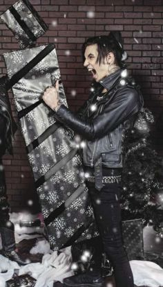 Christmas time with Andy Biersack