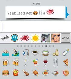 Spice up your conversation with custom emojis on buzzMSG!! #buzzmsg #emojis #emojistory #emoji #anyemoji | http://youtu.be/PUIDz4_wPz4