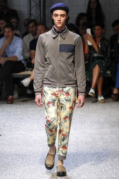 Catwalk photos and all the looks from Antonio Marras Spring/Summer 2016 Menswear Milan Fashion Week