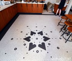 Early S Mosaic Floor Tile Pattern From American Encaustic Tile - Custom ceramic tiles maker