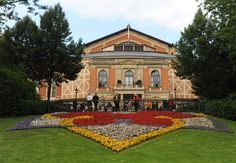 Festspielhaus, Bayreuth, Germany    The Festspielhaus is the home of the Wagner Festival, which draws some 60,000 devotees every year.