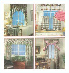 Simplicity 9462 Design Your Own Curtains Pattern Uncut