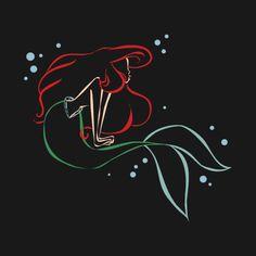 Disney Art Ideas Draw The Little Mermaid Ideas Disney Kunst, Arte Disney, Disney Magic, Disney Art, Disney Movies, Ariel Mermaid, Mermaid Disney, Ariel The Little Mermaid, Ariel Ariel
