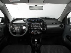 Interior of Toyota Etios Cross