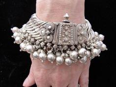 East Indian Sterling Silver Bracelet