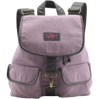 My fav color purple, in a cute slouchy backpack... Want it!