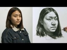 Girl Portrait Drawing Classes - YouTube