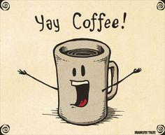 Yay Coffee!! / Coffee Shop Stuff