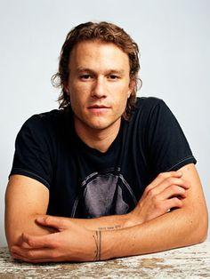 Simply beautiful! <3 Heath Ledger