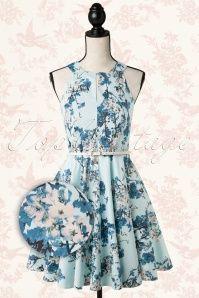 Closet Spring Blossom Light Blue Dress 105 39 14813 20150127 0018Pop2