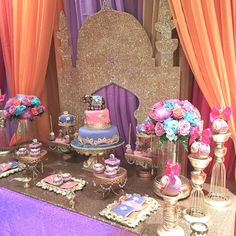 Arabian Nights Birthday Party Ideas | Photo 5 of 13 | Catch My Party