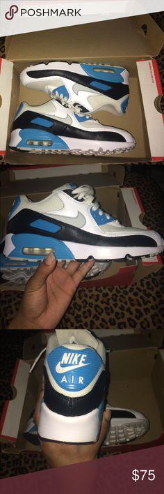 Kids nike air max 90 mesh shoes Worn still clean still in original box Nike  Shoes Sneakers 87db45a08