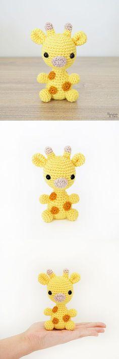 Crochet Pattern - Baby Giraffe - Amigurumi