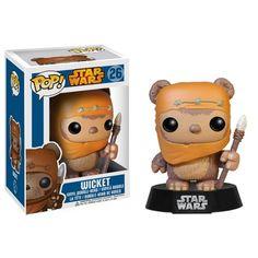 Star Wars POP Wicket Bobble Head Vinyl Figure