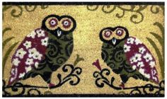 Two Owls - Printed Coco Doormat - Heavy Duty Outdoor Premium Coir Mat 18x30 by Iron Gate by Iron Gate. Save 47 Off!. $15.99. Printed Coir doormats are made from 100% coconut husks.. These extremely durable mats will keep their appearance for a long time even in high traffic areas.. The bristled coco fibers stand up and grab dirt very well. Compact weave prevents mat from shedding.. Heavy Duty attractive printed Two Owls premium outdoor coir mat.. Care: To clean your coir mat simply shake…
