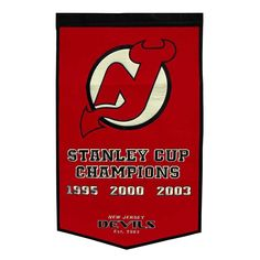 New Jersey Devils Dynasty Banner, Multicolor