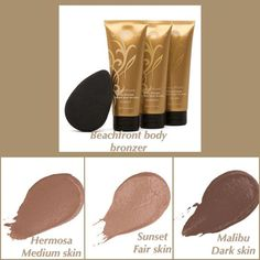 Instantly smooth on a bronzed, summery look with  Younique's Beachfront Body Bronzer, a luxurious and nourishing lotion that pampers and tints your skin.  www.BeYouniqueByWynn.com