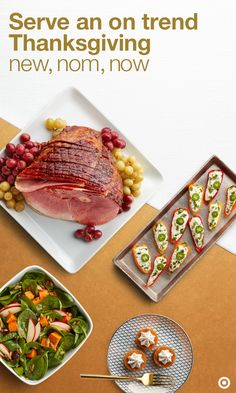 Hosting Thanksgiving and need trend-worthy recipes you can pull together quickly and easily? No problem. All thanks to this New, Nom, Now recipe collection. Click to create your perfect Thanksgiving meal with bourbon-glazed ham, stuffing and mashed potato