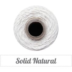 Image of Solid Natural Twine Spool