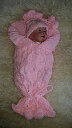 TJ Cocoon knitting pattern  Sent Via Email by Patsbabydreamknits