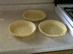 "Amish ""Pat a Pan"" Pie Crust...easy! *use melted butter rather than oil for a buttery and flakey taste!!*"