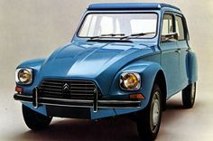 #Blue Citroen Dyane 6 I would so drive this car with Betty in the passenger seat:)