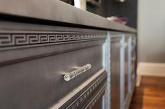 Greek Key molding-cabinet detail