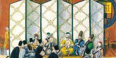 Müzik ve Medeniyet Musical Instruments, Persian, Musicals, Ottoman, Entertaining, Quilts, Painting, Purple, Google