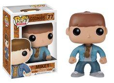"""Cabezón Mikey. Los Goonies. POP Games. Funko Estupendo cabezón del personaje <b>Mikey</b> de 9 cm de altura aprox., perteneciente a la divertida y popular película <b>""""Los Goonies""""</b> estrenada en el año 1985 con enorme éxito en todos los cines."""