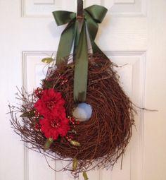 Christmas Wreath, Grapevine Wreath, Holiday Wreath