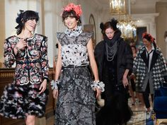 Backstage at Chanel's Metiers D'Art 2016-2017 Pre-Fall Collection show at the Ritz, Paris.  Photo: Chanel.