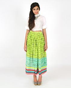 Vintage Car Skirt | Resort Wear Collection | Shop from www.thequirkbox.com